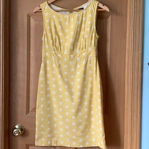 Gap | Yellow A-line Dress